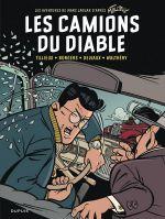 Marc Jaguar T2 : Les camions du diable (0), bd chez Dupuis de Tillieux, Borgers, Delvaux, Walthéry, Constant
