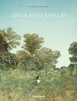 Les Grands espaces, bd chez Dargaud de Meurisse, Merlet