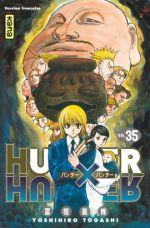Hunter x Hunter T35, manga chez Kana de Togashi
