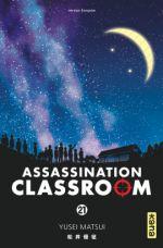 Assassination classroom T21, manga chez Kana de Yusei