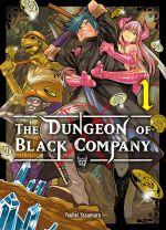 The dungeon of black company T1, manga chez Komikku éditions de Yasumura