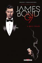 James Bond T4 : Kill chain (0), comics chez Delcourt de Diggle, Casalanguida, Blythe, Smallwood