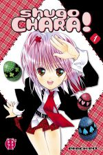 Shugo chara – Edition double, T1, manga chez Nobi Nobi! de Peach-Pit