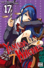 Yamada kun & the 7 witches T17, manga chez Delcourt Tonkam de Yoshikawa