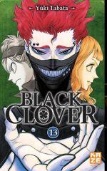 Black clover T13, manga chez Kazé manga de Tabata