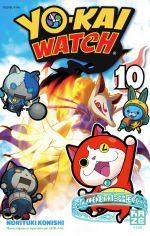 Yo-kai watch  T10, manga chez Kazé manga de Konishi, Level-5