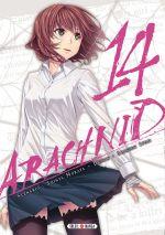 Arachnid T14, manga chez Soleil de Murata, Ifuji