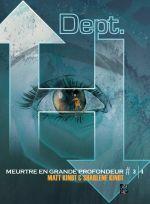 Dept H. T3, comics chez Futuropolis de Kindt, Kindt