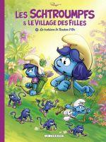 Les Schtroumpfs et le Village des Filles T2 : La trahison de bouton d'or (0), bd chez Le Lombard de Parthoens, Culliford, Maury, Maddaleni