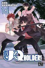 UQ Holder! T16, manga chez Pika de Akamatsu