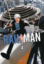 Rain man T4, manga chez Panini Comics de Hoshino