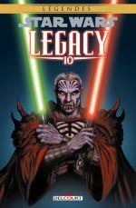 Star Wars Legacy T10 : Guerre totale (0), comics chez Delcourt de Ostrander, Duursema, Anderson
