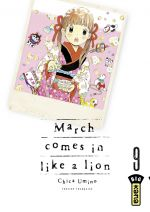 March comes in a like a lion T9, manga chez Kana de Chica