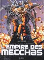 L'empire des mecchas T1 : Elijah L-Yys, roi des immortels (0), bd chez Soleil de Téhy, Fenech