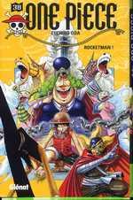 One Piece T38 : Rocketman ! (0), manga chez Glénat de Oda