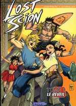 Lost Scion T1 : Le réveil (0), manga chez Les Humanoïdes Associés de Gonzales, Guerrero