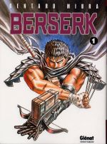 Berserk T1, manga chez Glénat de Miura