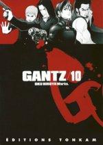 Gantz – 1e edition, T10, manga chez Tonkam de Oku