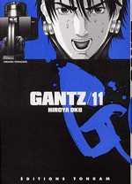 Gantz – 1e edition, T11, manga chez Tonkam de Oku