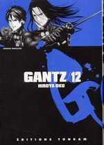 Gantz T12, manga chez Tonkam de Oku
