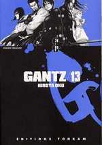 Gantz – 1e edition, T13, manga chez Tonkam de Oku