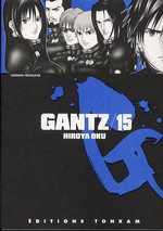 Gantz – 1e edition, T15, manga chez Tonkam de Oku