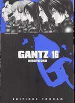 Gantz – 1e edition, T16, manga chez Tonkam de Oku