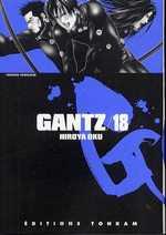 Gantz – 1e edition, T18, manga chez Tonkam de Oku
