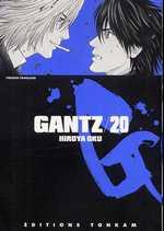 Gantz – 1e edition, T20, manga chez Tonkam de Oku