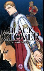 Black clover T16, manga chez Kazé manga de Tabata