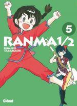 Ranma ½ T5, manga chez Glénat de Takahashi