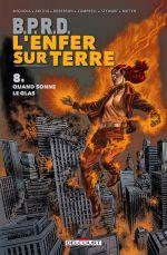 B.P.R.D. - L'enfer sur Terre T8 : Quand sonne le glas (0), comics chez Delcourt de Mignola, Arcudi, Roberson, Campbell, Mitten, Stewart