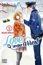 Love under arrest T3, manga chez Delcourt Tonkam de Miyoshi