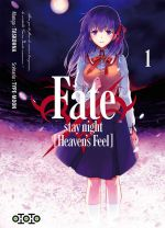 Fate stay night [Heaven's feel] T1, manga chez Ototo de Type-moon, Taskohna