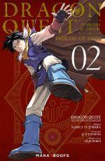 Dragon quest - Les héritiers de l'emblème T2, manga chez Mana Books de Eishima, Fujiwara