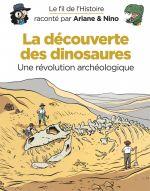 Le Fil de l'Histoire T9 : La découverte des dinosaures (0), bd chez Dupuis de Erre, Savoia