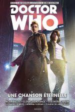 Doctor Who - Le Dixième Docteur T4 : Une chanson éternelle (0), comics chez Akileos de Abadzis, Carlini, Casagrande, Romero, Ianniciello, Florean