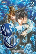 Awa koi T2, manga chez Panini Comics de Kanan
