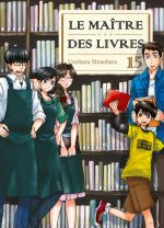 Le maître des livres T15, manga chez Komikku éditions de Shinohara