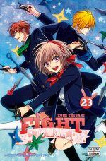 Fight girl T23, manga chez Delcourt Tonkam de Tsubaki