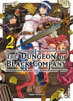 The dungeon of black company T2, manga chez Komikku éditions de Yasumura