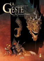 La geste des Chevaliers Dragons T27 : Le Draconomicon (0), bd chez Soleil de Ange, Boutin-Gagné, Paitreau
