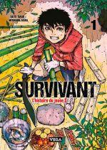Survivant - l'histoire du jeune S T1, manga chez Vega de Saïto, Miyagawa