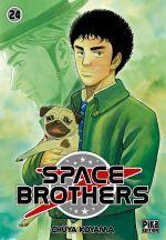 Space brothers T24, manga chez Pika de Koyama