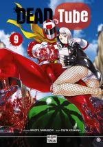 Dead tube T9, manga chez Delcourt Tonkam de Yamaguchi, Kitakawa