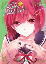 Wonder rabbit girl T4, manga chez Delcourt Tonkam de Hirose