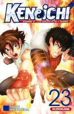 Ken-Ichi – Les disciples de l'ombre 2, T23, manga chez Kurokawa de Matsuena
