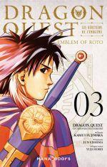 Dragon quest - Les héritiers de l'emblème T3, manga chez Mana Books de Eishima