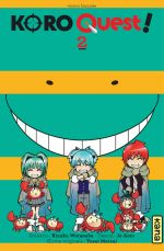 Koro quest ! T2, manga chez Kana de Watanabe, Aoto