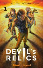 Devil's relics T1, manga chez Glénat de Darcy, Morvan, Maître Gims, Tamura